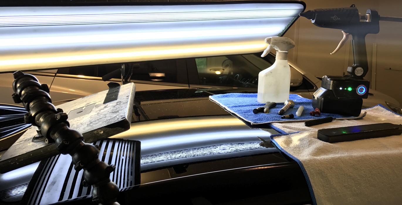 Технология удаления вмятин без покраски